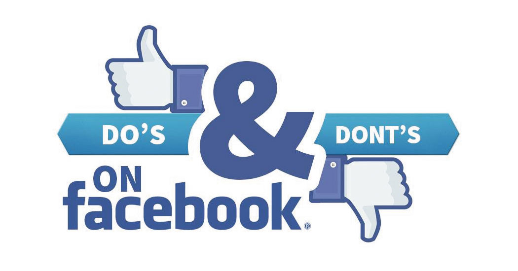 DO AND DONT FACEBOOK